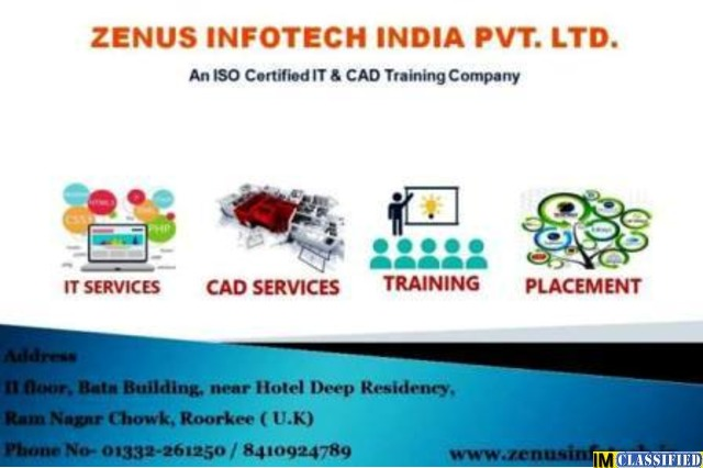 Best Dot NET Training in ROORKEE- ZENUS INFOTECH INDIA PVT LTD. - 1/1